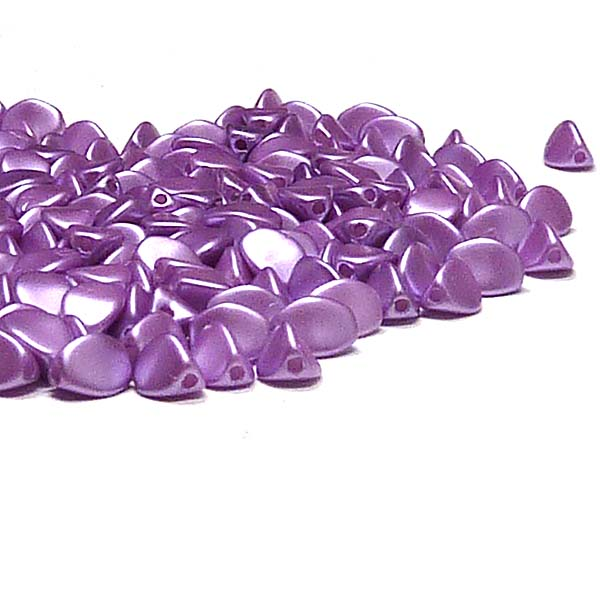 "Pinch beads Pastel Lila ""25012"" 5*3 mm, 50 st"