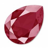 "4320 Swarovski Pear Fancy Stone ""Dark Red"" 18*13 mm 1 st"